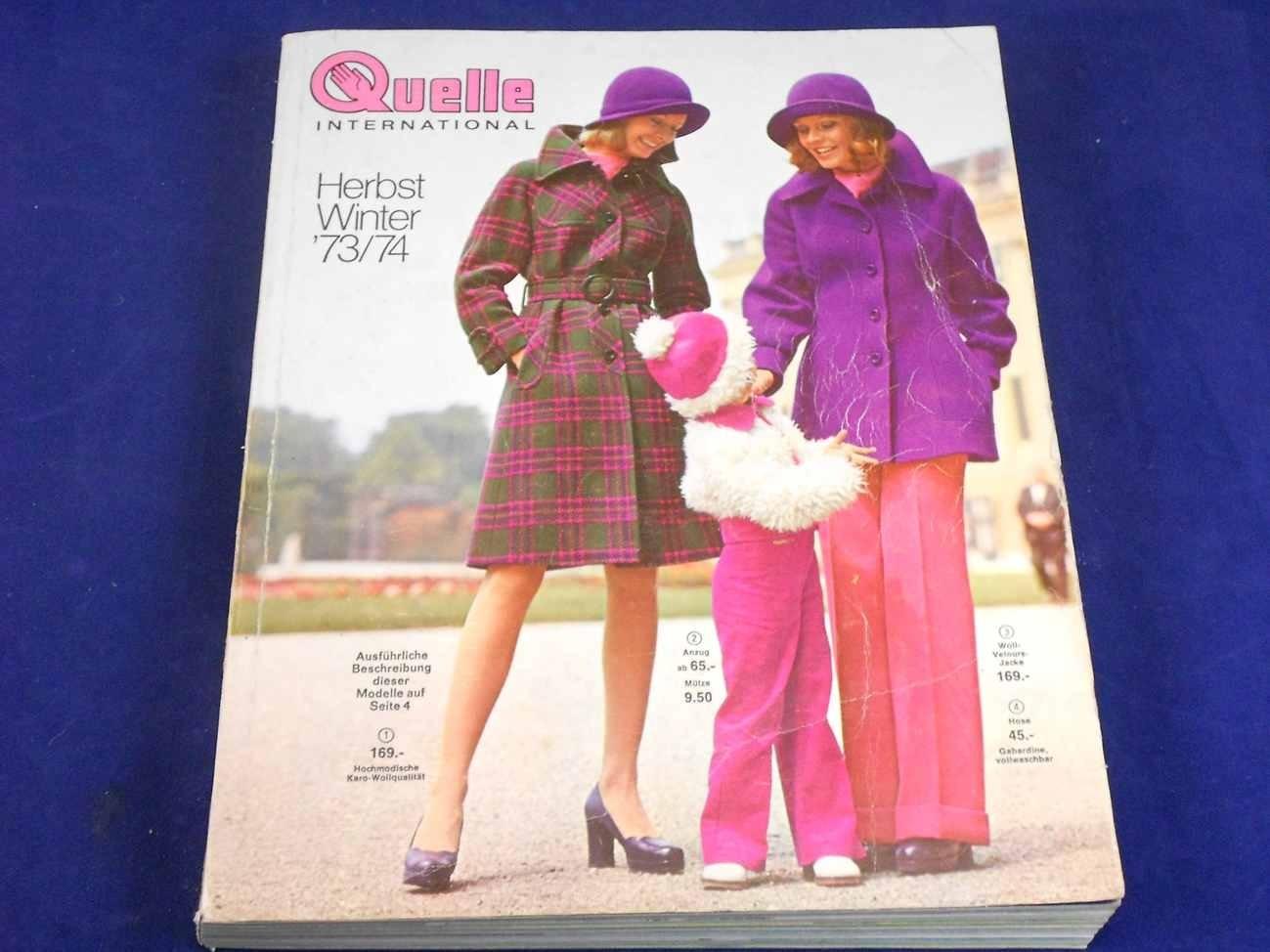 1973 1974 quelle katalog herbst winter kusera. Black Bedroom Furniture Sets. Home Design Ideas