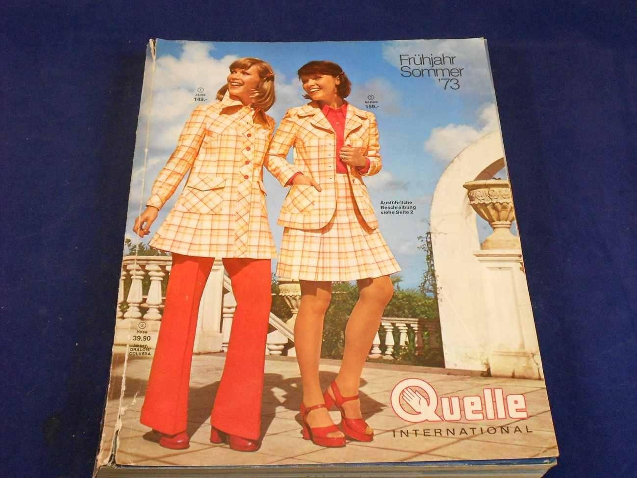 Quelle Katalog Frühjahr Sommer 1973 Kusera