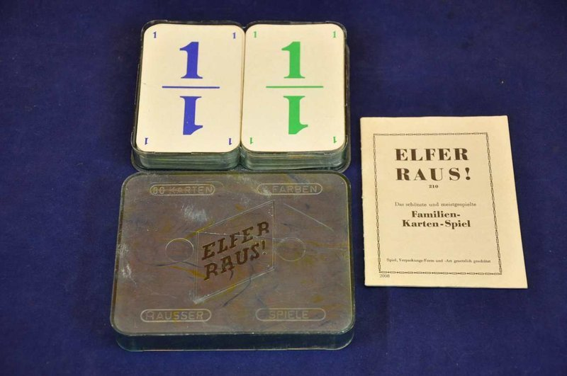 Familien Kartenspiel Elfer Raus Kusera