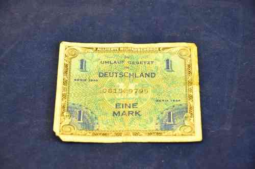 1 Mark Germany Eine Mark Serie 1944