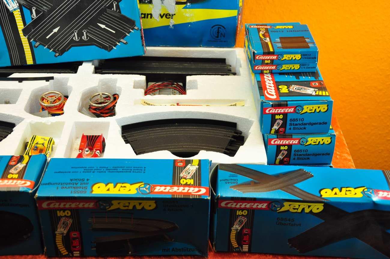 Kinderrennbahnen Spielzeug United Carrera Servo 160 Anschlußstück 68520 Neu Moderate Price