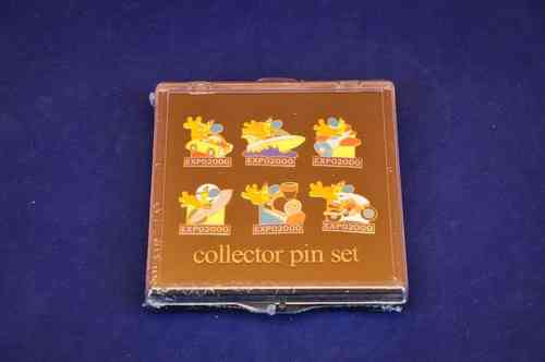 Expo 2000 Collector pin set Hannover Messe Neu
