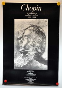 Poster from Poland Chopin poster exhibition 1890 · 1939