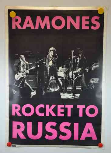 Music Wallpaper 1977 Ramones Rocket to Russia