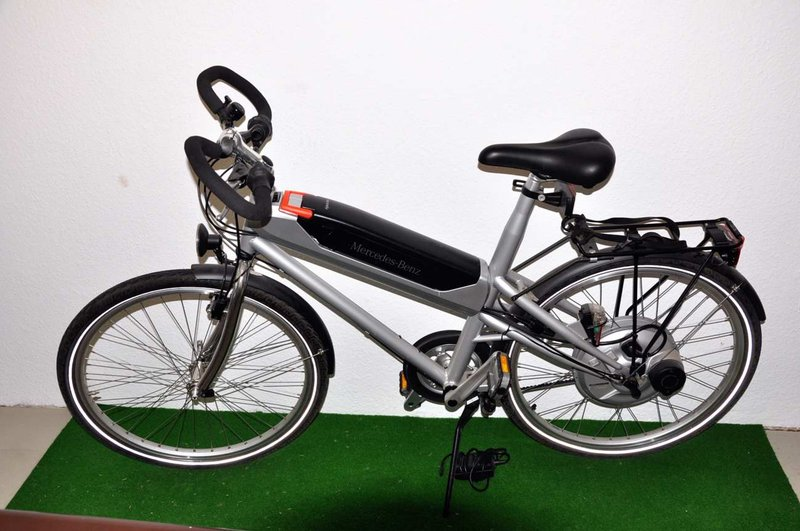 Mercedes benz hybrid bike ladeger t for sale at kusera for Mercedes benz bikes