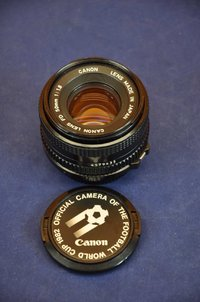 Canon FD 50mm 1:1,8 World Cup 1982
