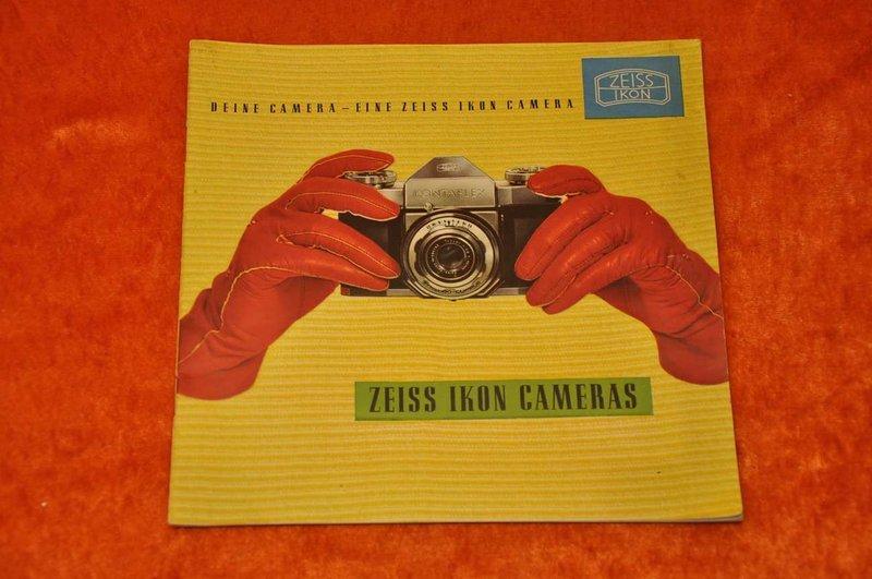 Zeiss Ikon Stuttgart Camera Catalog 1954