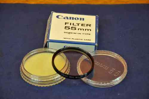 Canon 55mm Skylight 1x Filter + Box