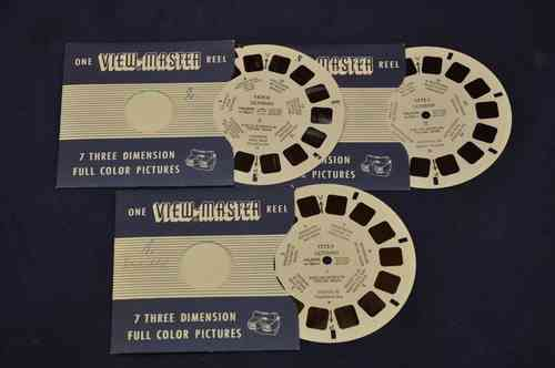 View-Master Germany 1575-A/B/C Germany I-III 1955