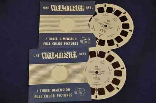 View-Master Flowers of Hawaii I-II 68 u. 69 von 1951