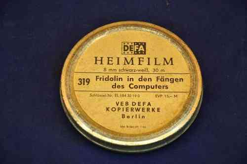 Defa 8 mm Heimfilm Fridolin in den Fängen des Computers