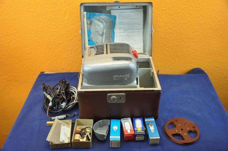 8mm projector Weimar 3 + Prokinar Zeiss + Accessories