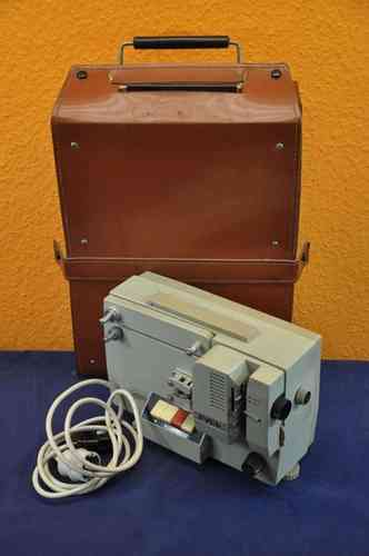 Russian film projector PYCb + leather case super-normal8