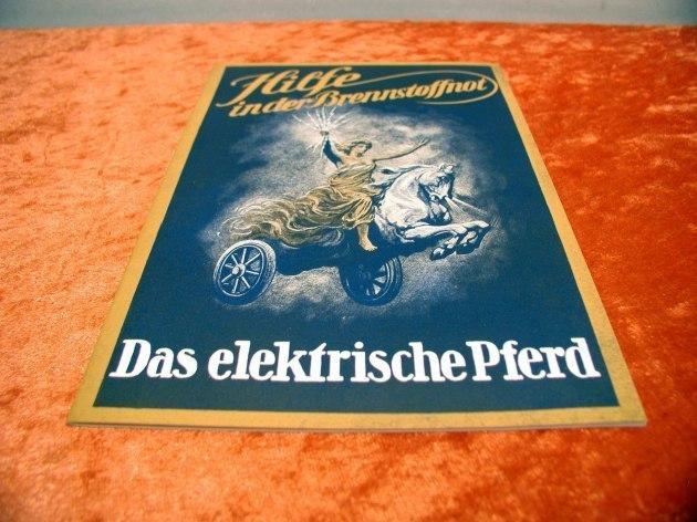 Das elektrische Pferd Prospekt Reprint - kaufen bei Shop KuSeRa