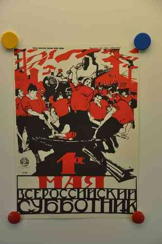 Poster session of Soviet posters - may 1