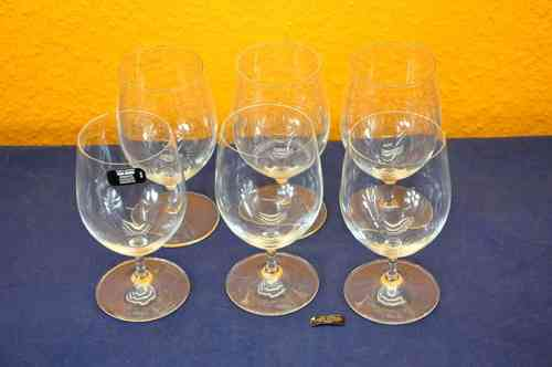 Riedel glass Overture 6 water glasses sodalime