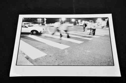 Photo b/w * Action street hustle 1 * by Frank Dismer