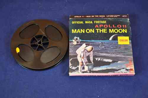 Apollo 11 Man on the moon Color Columbia 8mm Home Movie