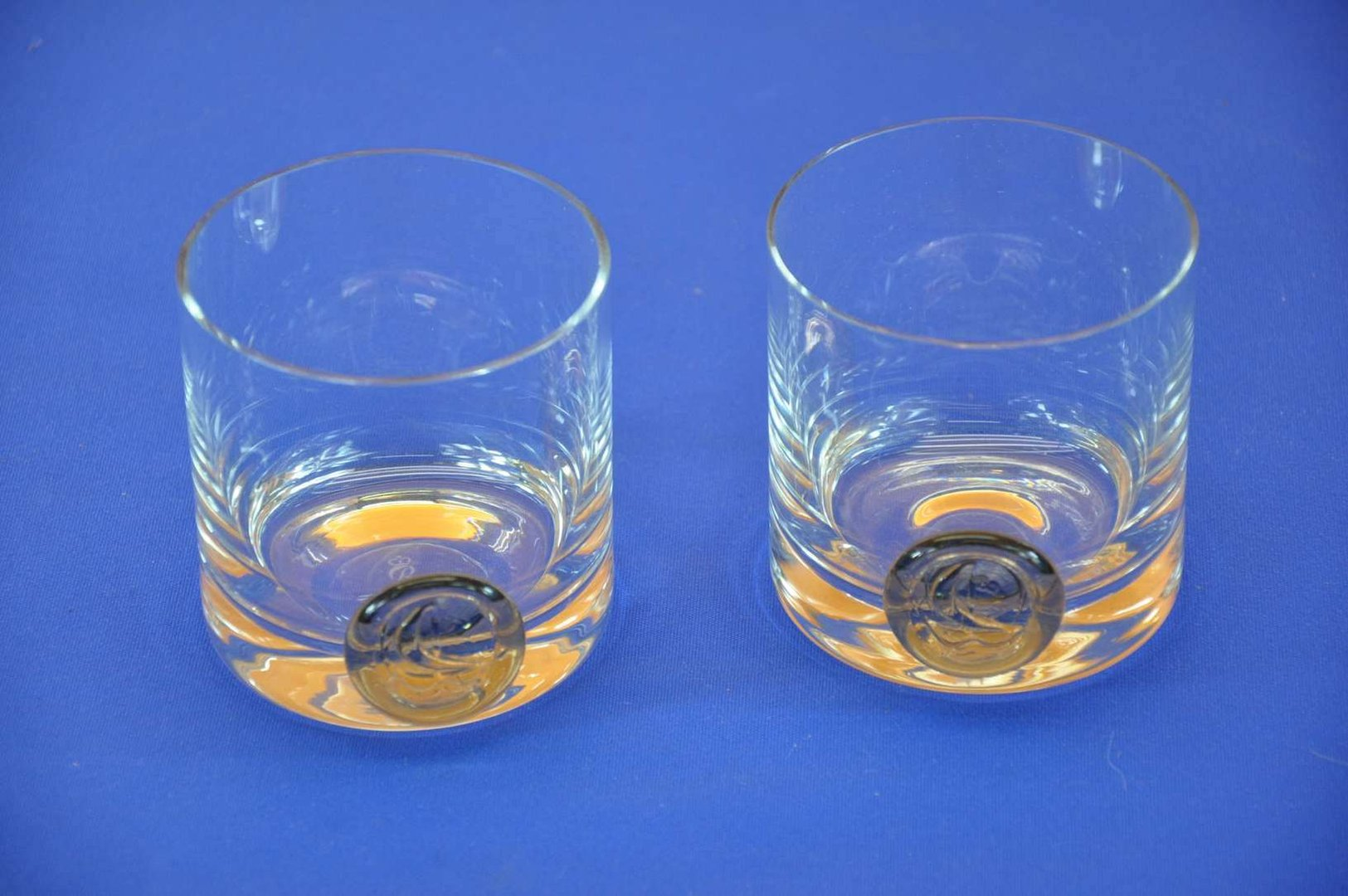 whisky glass 2 piece pirate seal wiinblad kusera