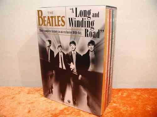 The Beatles A Long and Winding Road 4 DVD Set