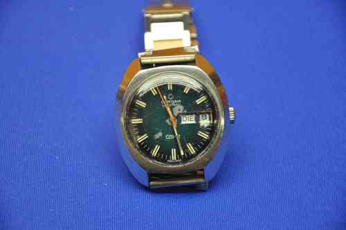 Certina DS-2 Automatic Day-Date Armbanduhr um 1970