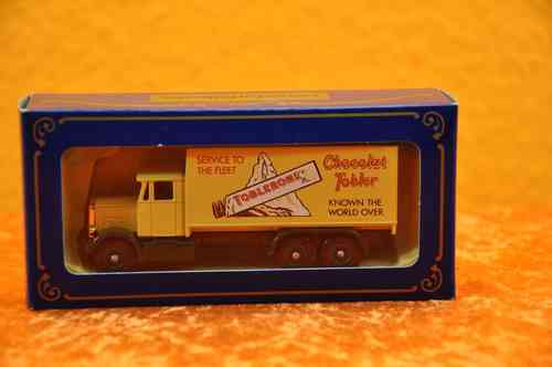 Scammel 6-Wheeler Chocolat Tobler TRUCK model car OVP