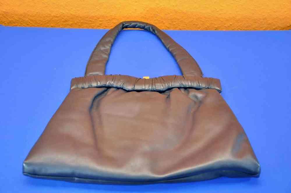 b19c358c9bf65 Handtasche Leder in Schwarz Hildebrand 80er - Verkauf bei KuSeRa