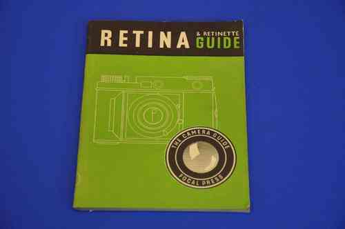 Kodak Retina & Retinette Guide 64 pages from 1952