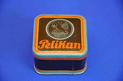 Ink ribbon box made of sheet metal Pelikan 1950