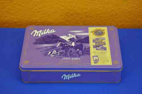 Blechdose 100 Jahre Milka 1901-2001 Limited Edition