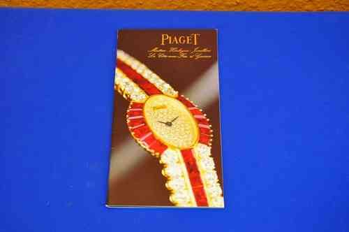 Piaget watches catalog No. 27 January 1985 + price list