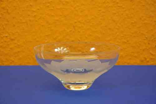 Rosenthal glass bowl Lotus matt D 12cm