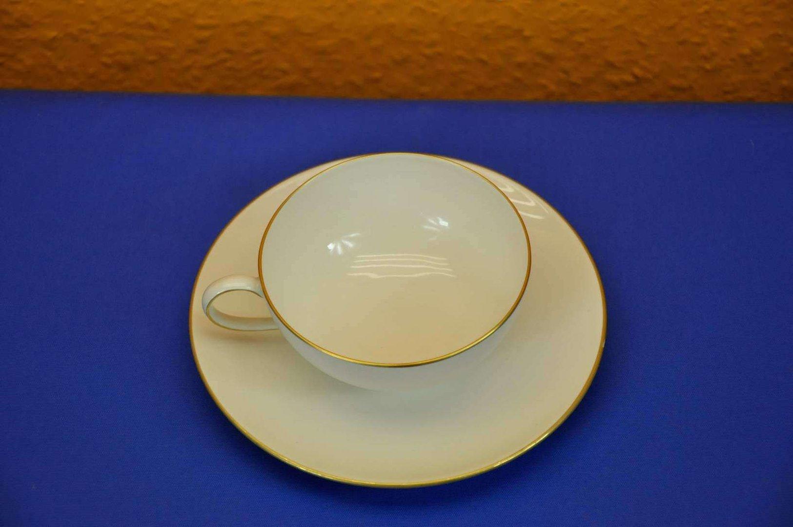 ... KPM Berlin tea cup Bauhaus Trude Petri cream gold edge ... & KPM Berlin tea cup Bauhaus Trude Petri cream gold edge - KuSeRa