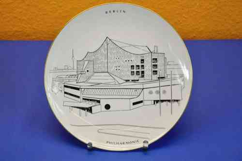 KPM wall plate Berlin Philharmonic limited 25 cm