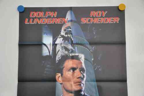 Movie Poster Red Zone Dolph Lundgreen Video shop 90s