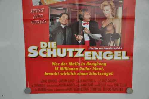 Movie Poster Die Schutzengel Video shop 90s