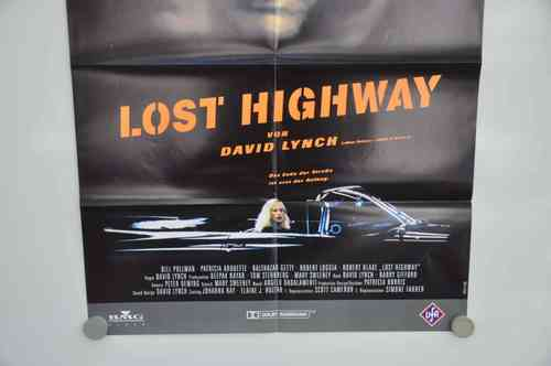 Movie Poster  Lost Highway Video shop 90s