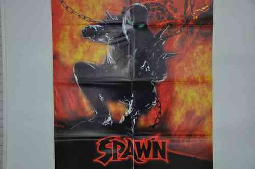 Movie Poster Spawn Video shop 90s