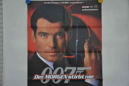 Movie Poster 007 Der Morgen stirbt nie Video shop 90s