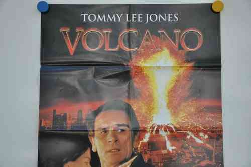 Movie Poster Volcano Video shop 90s