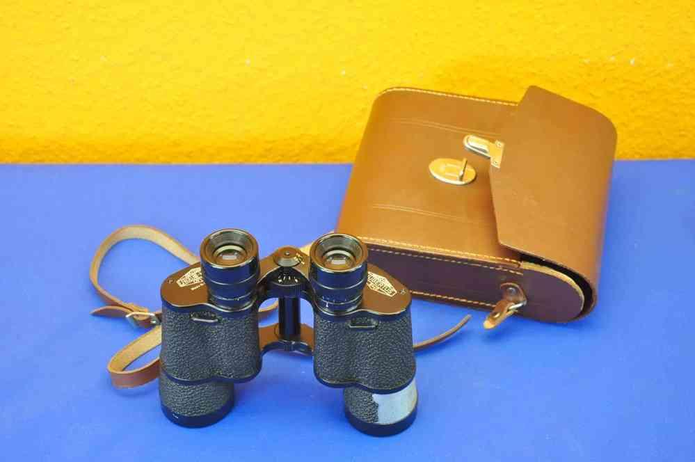 Fernglas hubertus von e oelich kassel mit tasche kusera