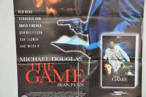Movie Poster The Game Sean Penn  Video shop 90s