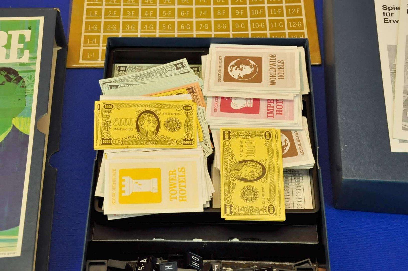 Acquire Brettspiel 3M Company USA 1968 - KuSeRa