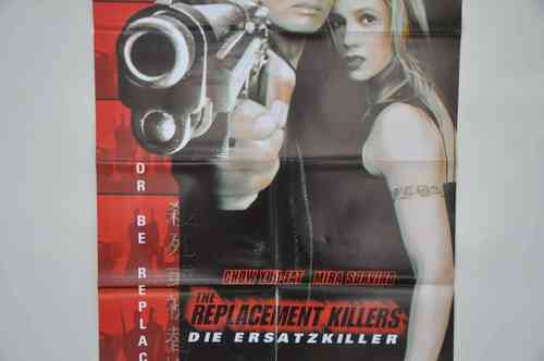 Movie Poster The Replacement Killers  Video shop 90s