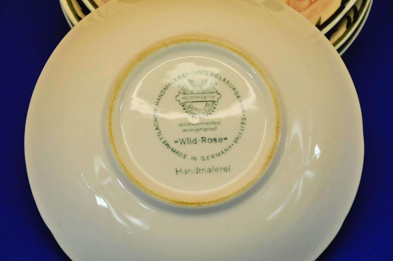 villeroy boch wildrose porzellan 4 dessertschalen bei kusera. Black Bedroom Furniture Sets. Home Design Ideas