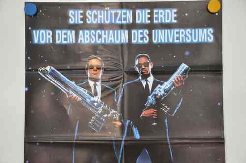 Movie Poster Men in Black Video shop 90s