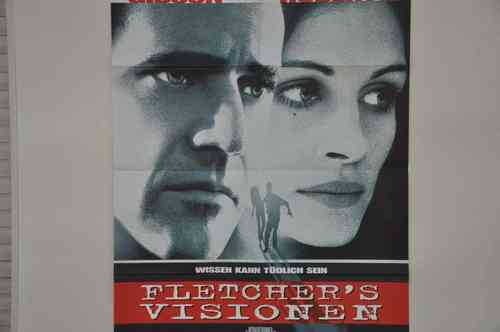 Movie Poster Flechters Visionen Video shop 90s