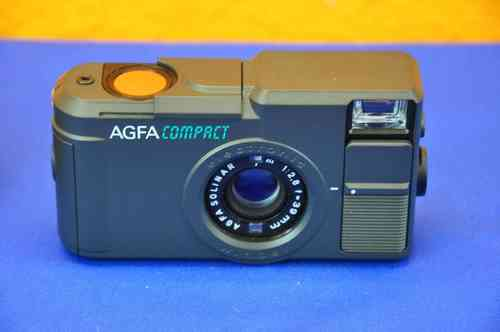 AGFA Compact electronic Winder mit Solinar 1:2,8 39mm