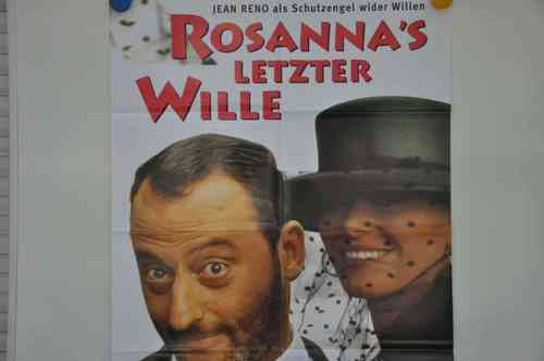 Movie Poster Rosannas letzter Wille Video shop 90s