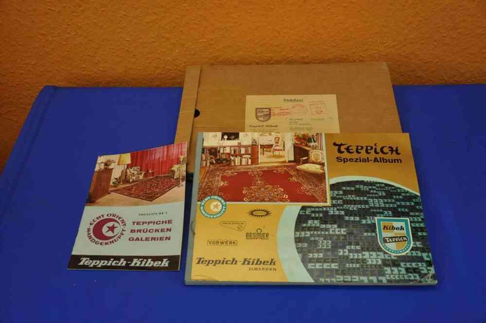 Kibek Teppich 21808 Spezial Album Katalog 1961 - KuSeRa